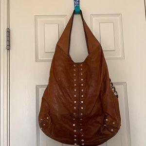 Genuine leather MICHAEL Michael Kors shoulder bag